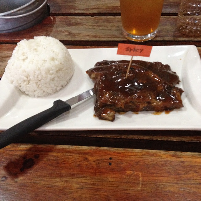 Surfin' Ribs in Cebu City Philippines
