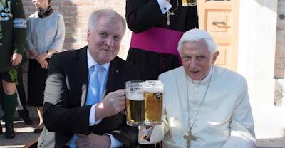 Benedict and beer