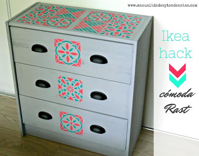 Ideas para decorar cómoda Rast de Ikea