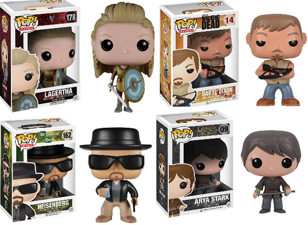 Funko Pops tv series