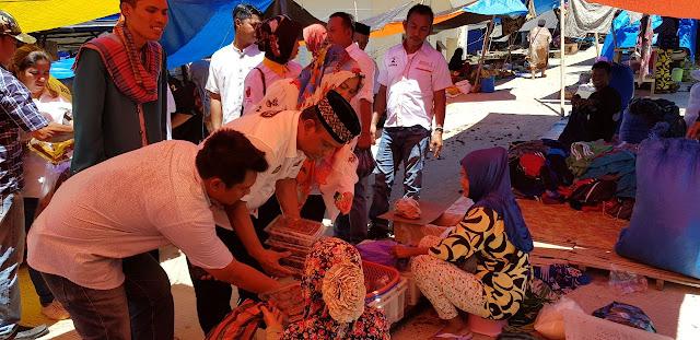 Berkunjung ke Pasar Kaluku BARAKKA Siap Bangkitkan Ekonomi Kerakyatan