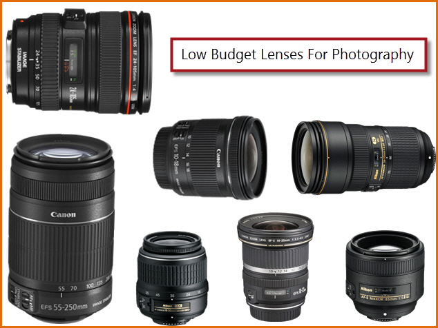 Low budget Canon and Nikon Lenses for photography | Photography ...