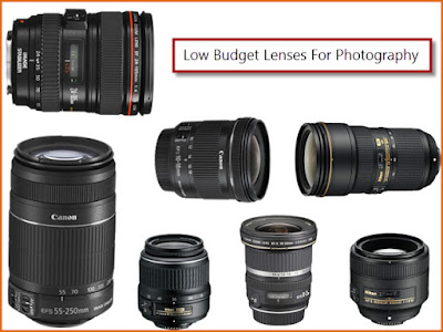 low budget canon and nikon lenses for photography