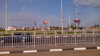 въезд в Витебск