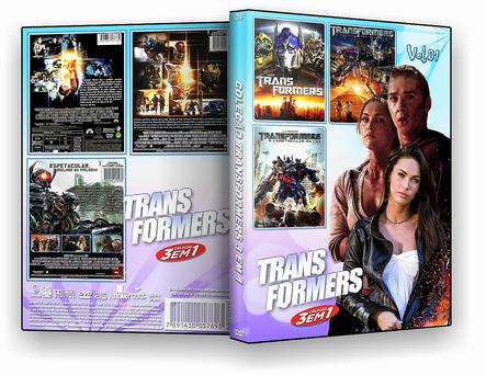 Coleção Transformers 3X1 Vol.01 – ISO