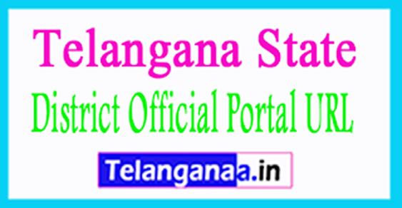 Telangana District Official Portal URL Telangana District Web Directory