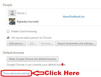 how to disable javascript in latest google chrome