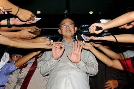 Menteri Agama Suryadharma Ali jadi tersangka