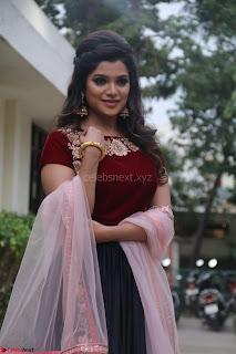 Actress Aathmika in lovely Maraoon Choli ¬  Exclusive Celebrities galleries 020.jpg