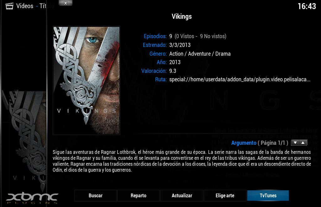 TVTunes : Reproduce la banda sonora de las Series de TV