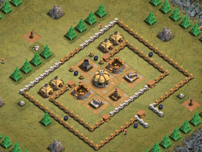 Goblin Base Clash of Clans Immovable Object