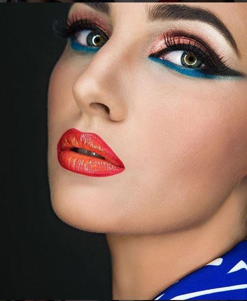 Maquiagem profissional no Brasil, produtos Hot Makeup imagem instagram