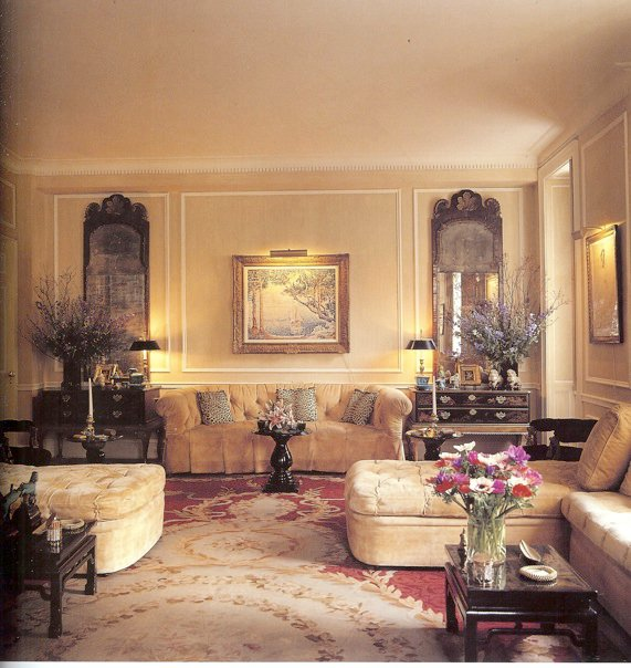 European Home Design Nyc: The Devoted Classicist: Michael Taylor For Nan Kempner