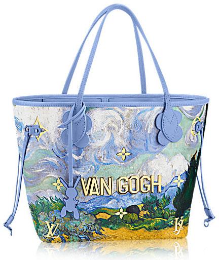 Louis Vuitton bolso pintura Van Gogh colección Masters Jeff Koons