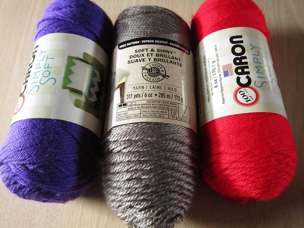 yarn, Loops & Threads Soft & Shiny, Caron Simply Soft