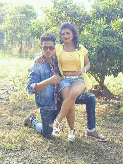 Rishabh Kashyap Golu With #Nisha_Dubey