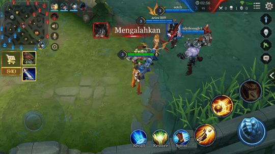 Arena Of Valor Menang Terus Dalam battle