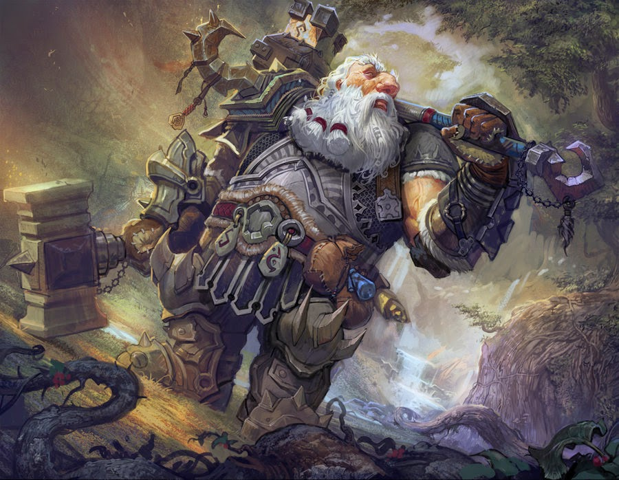 games with others: Dwarf in the Machine (5e D&D Race/Dwarves