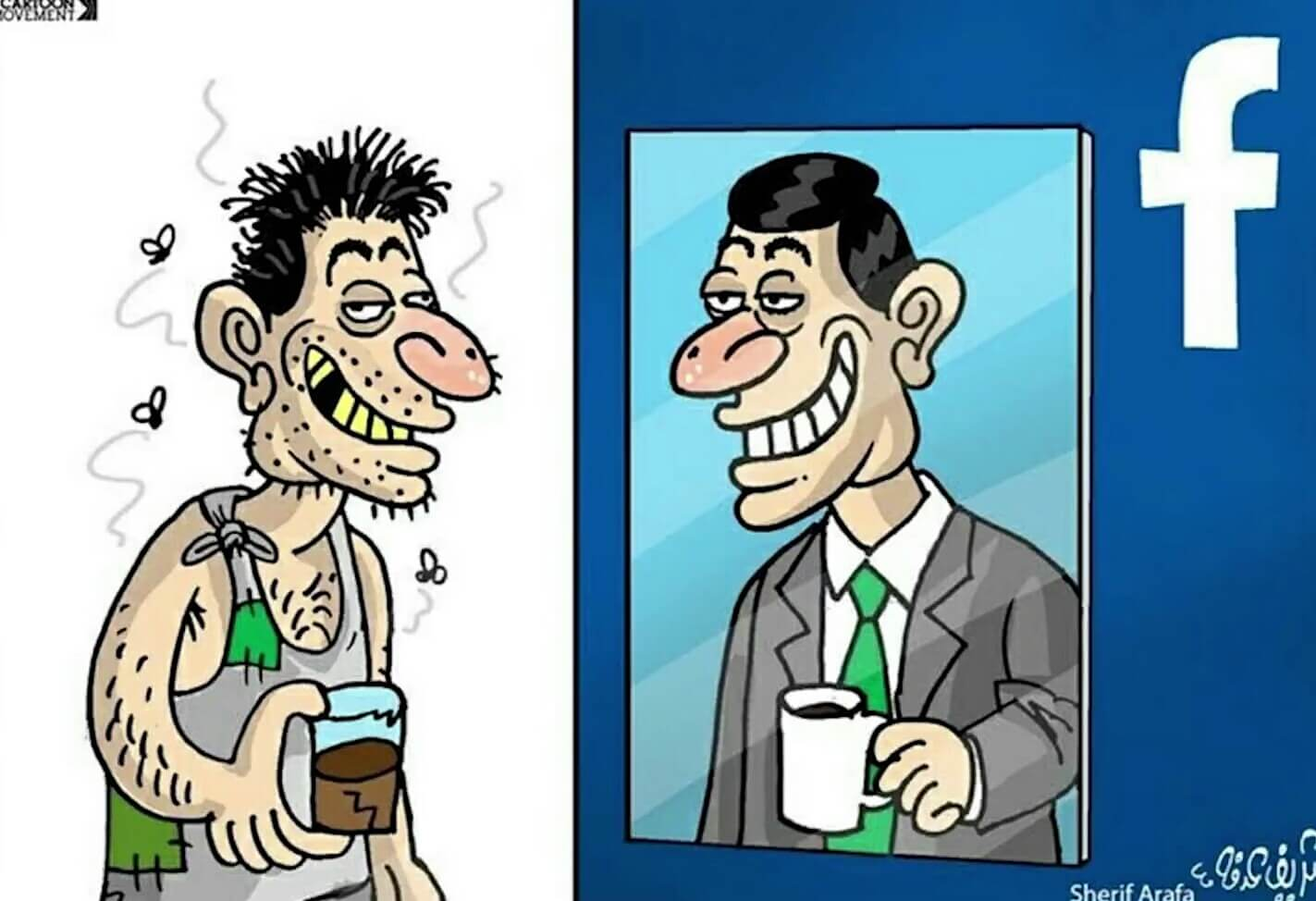 64 Truly Funny Illustrations Show Both Sides Of Society