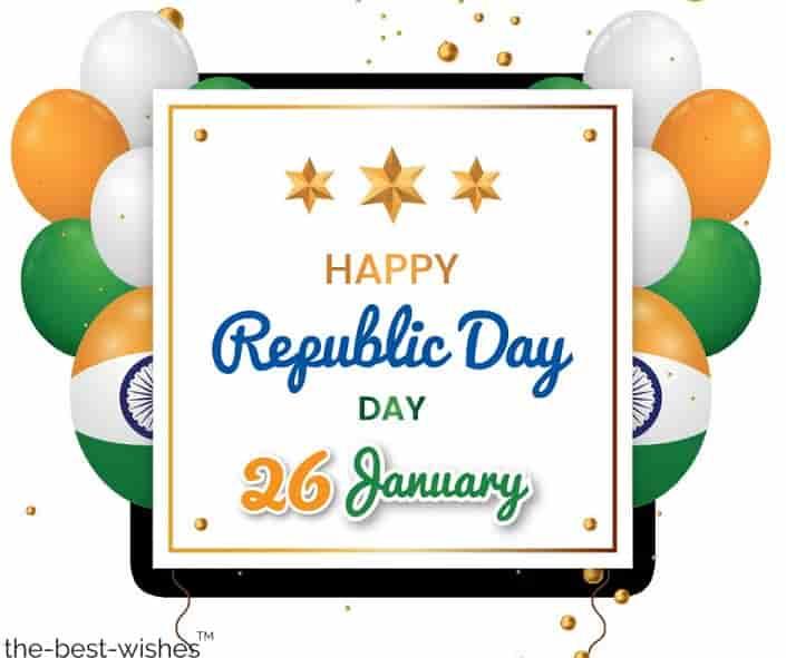 happy republic day 26 january