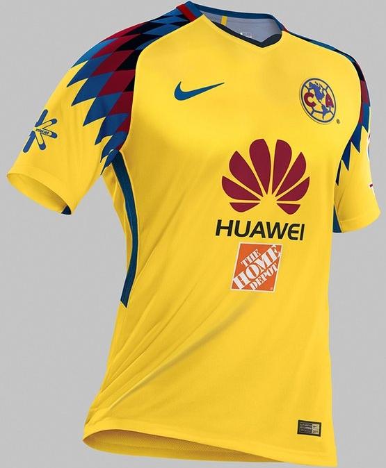 Nike divulga a nova terceira camisa do América do México - Show de ... 76fa3d2dce06d