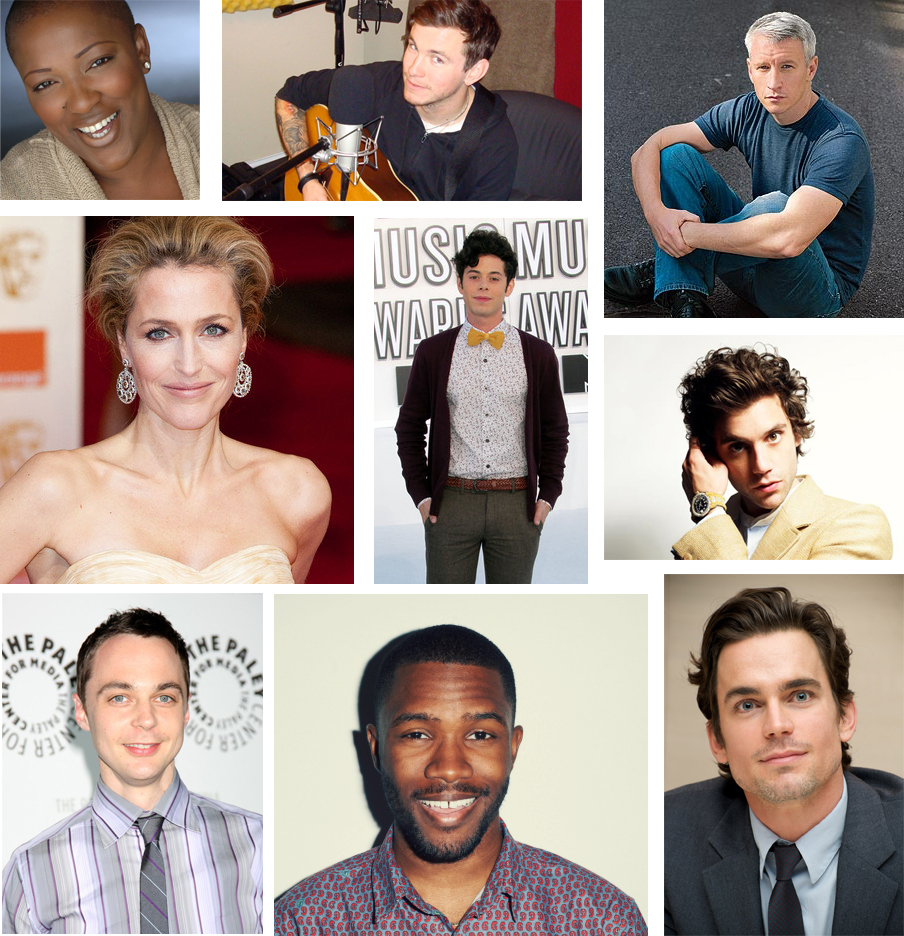 Celebrities you didn't know had a gay, bisexual or trans parent