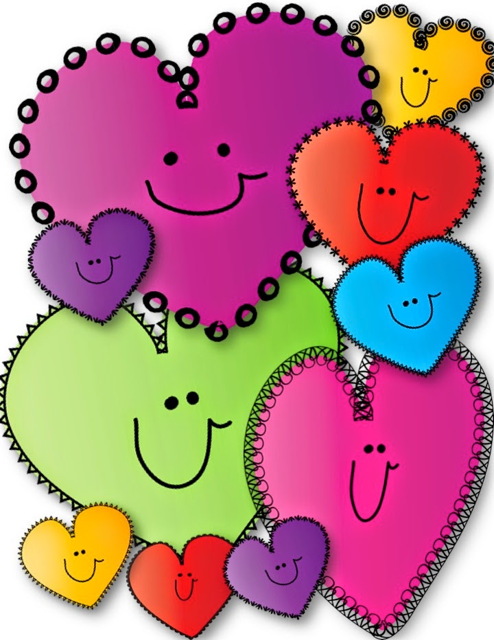 Teacher Karma: FREE Happy Hearts Clip Art!