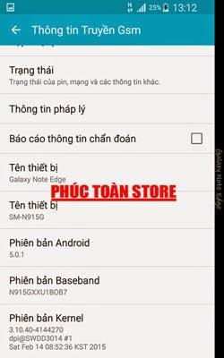 Tiếng Việt Samsung N915G 5.0.1 alt