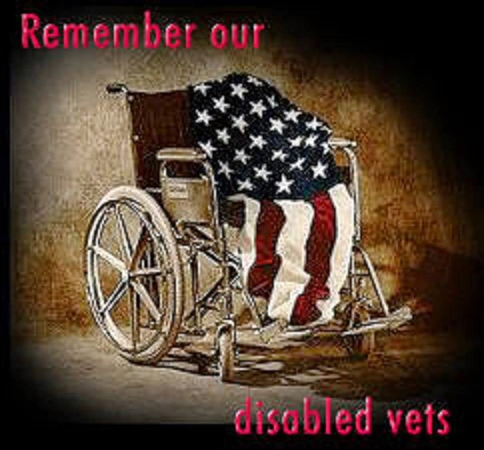REMEMBER OUR DISABLED VETERANS