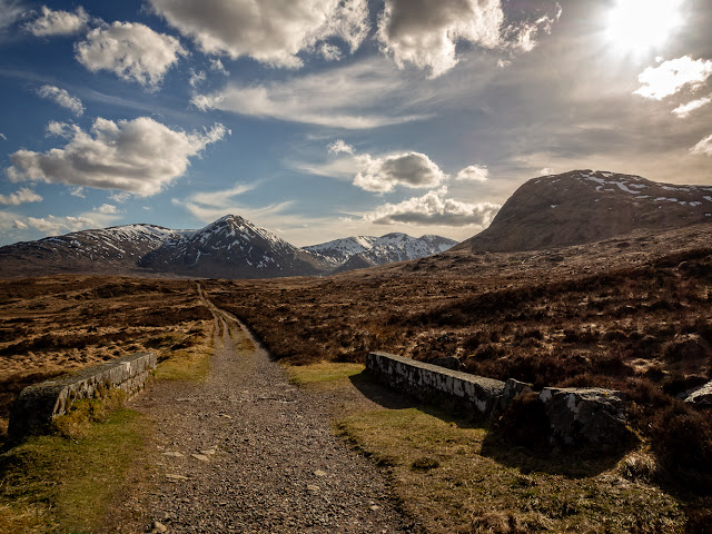 Photo of the West Highland Way between Glencoe and Bridge of Orchy