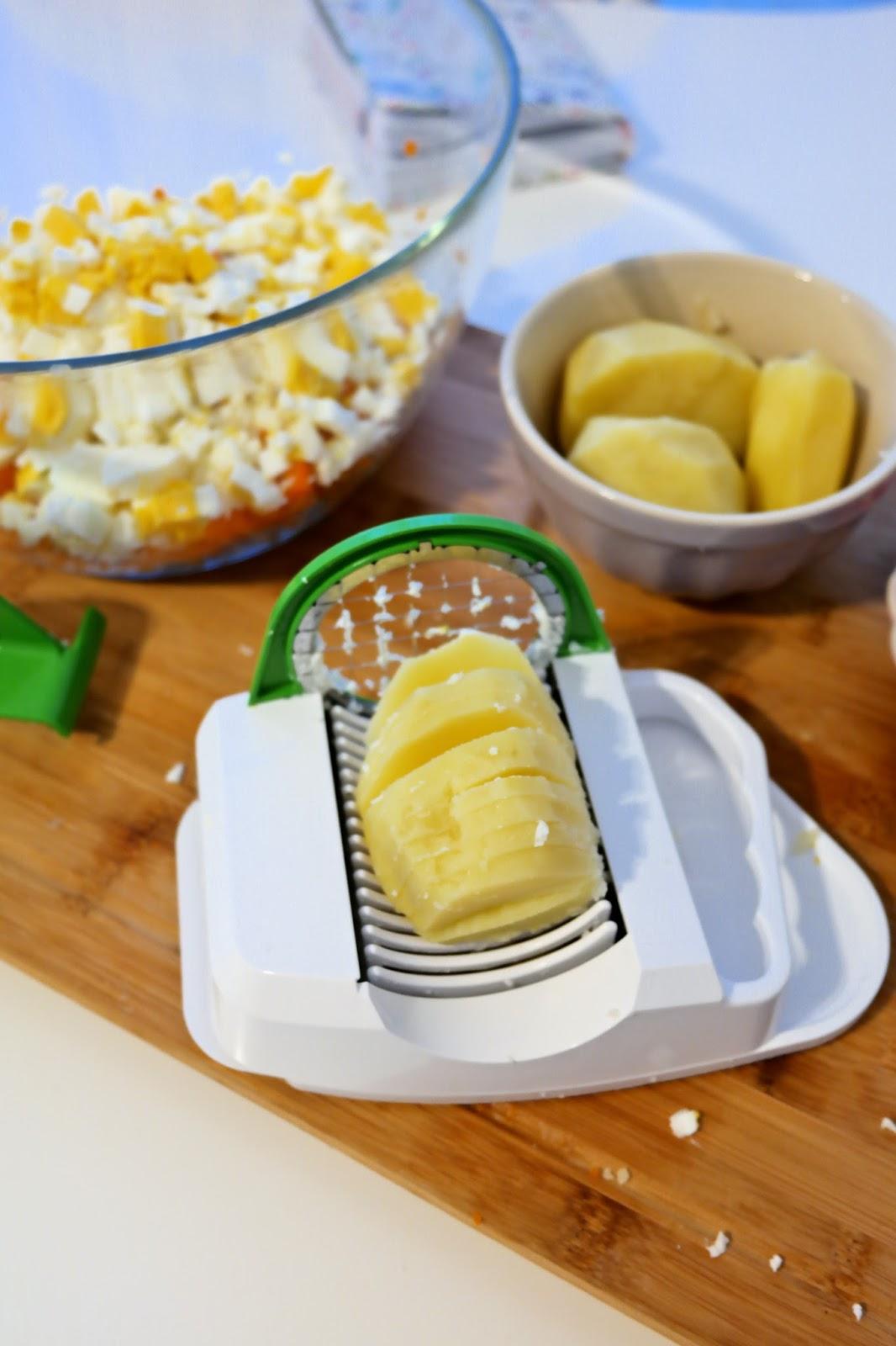 jak szybko pokroić ziemniaki