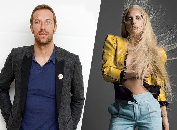 Chris Martin Talks About Lady Gaga