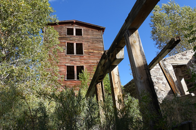 Osiris Creamery and Granary Abandoned in Utah Ghost Town