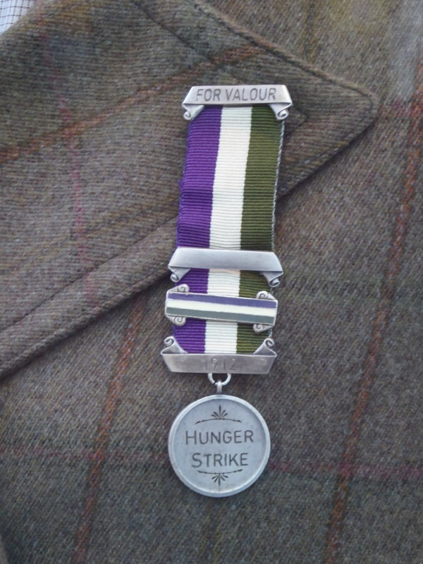 Hunger strike medal Suffragette movie