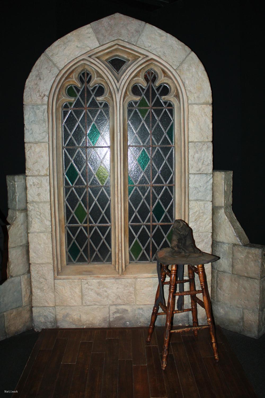 choixpeau magique exposition Harry Potter