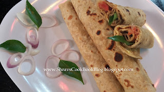 Egg Kathi Roll Recipe - Egg Wrap