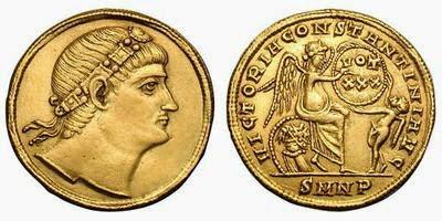 Constantino I. Sólido. Nicomedia, AD 335