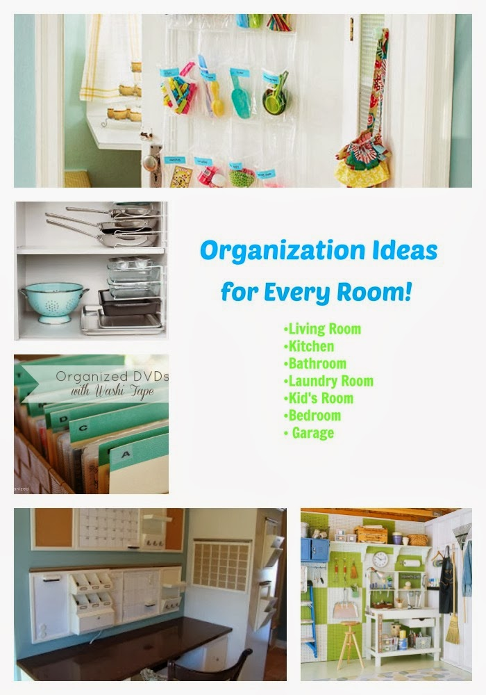Life With 4 Boys: Organization Ideas for Every Room of Your Home