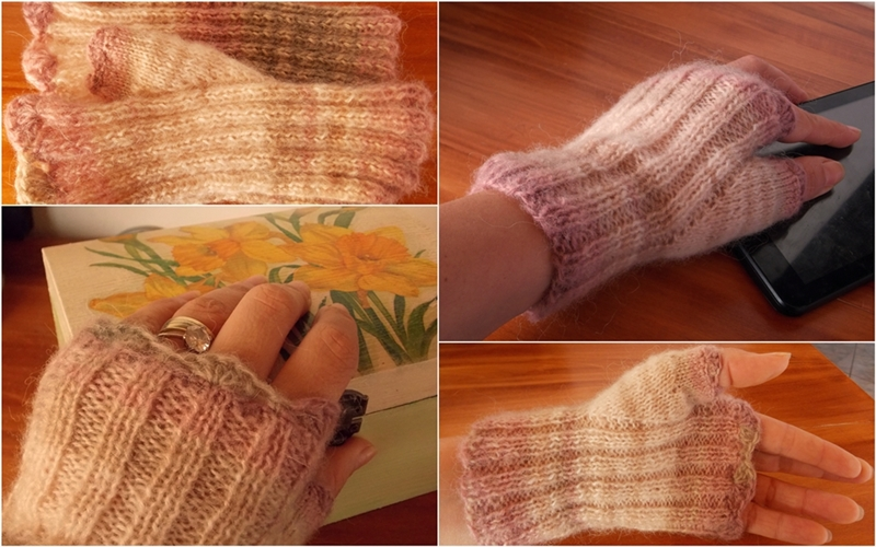 mitene tricotate