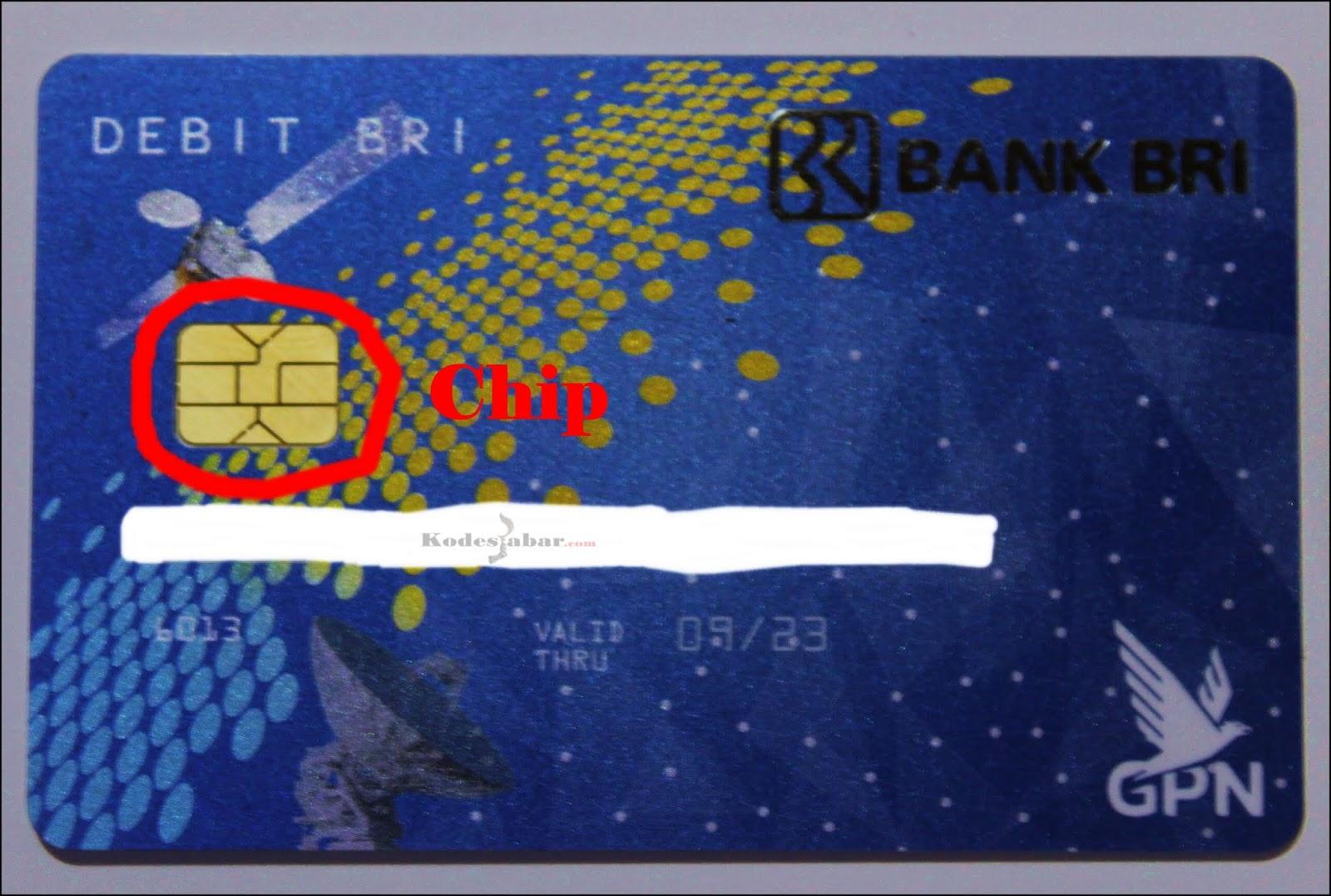 Ganti Kartu ATM Lamamu Dengan ATM BRI Chip Supaya Aman Dari Skimming