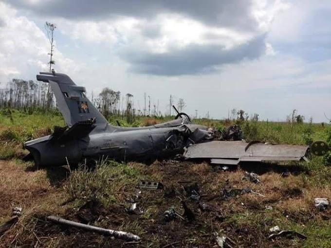 Pilot Terselamat Pesawat #TUDM Terhempas Di Pekan