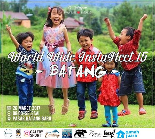 Worldwide Instameet 15 Batang Minggu, 26 Maret 2017 | Pasar Baru Batang