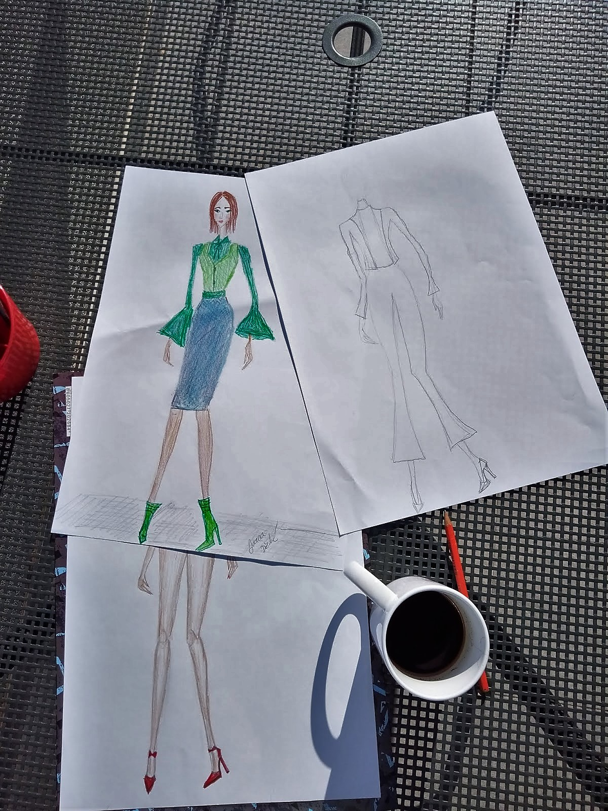 Fashion Illustration Friday Talk 10 Ways To Improve Your Fashion Drawing Skills