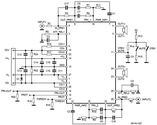 Electronic Circuits, Schematics Diagram, Free Electronics