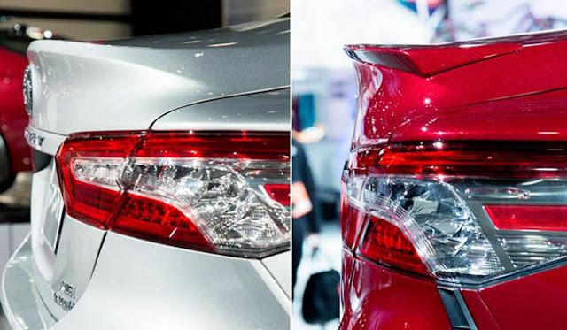 2018 Toyota Camry Rear Spoiler