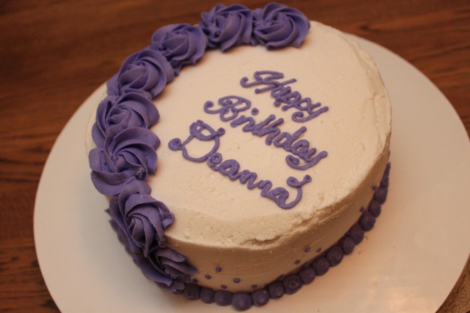 Happy Birthday Deanna Cake