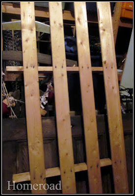 Found futon wood