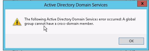Windows 2012: group basics