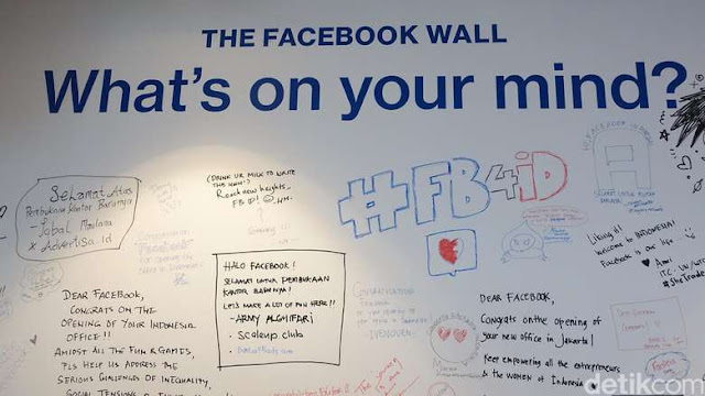 facebook wall indonesia