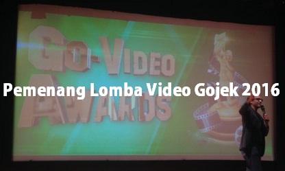 pemenang lomba video gojek 2016, juara lomba video gojek 2016, juara video gojek 2016, pemenang video gojek 2016